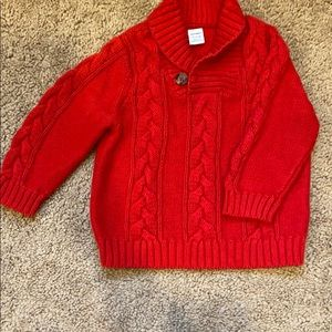 Other - Old Navy red sweater